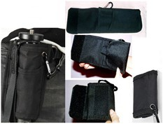 monopod come with a pouch bag